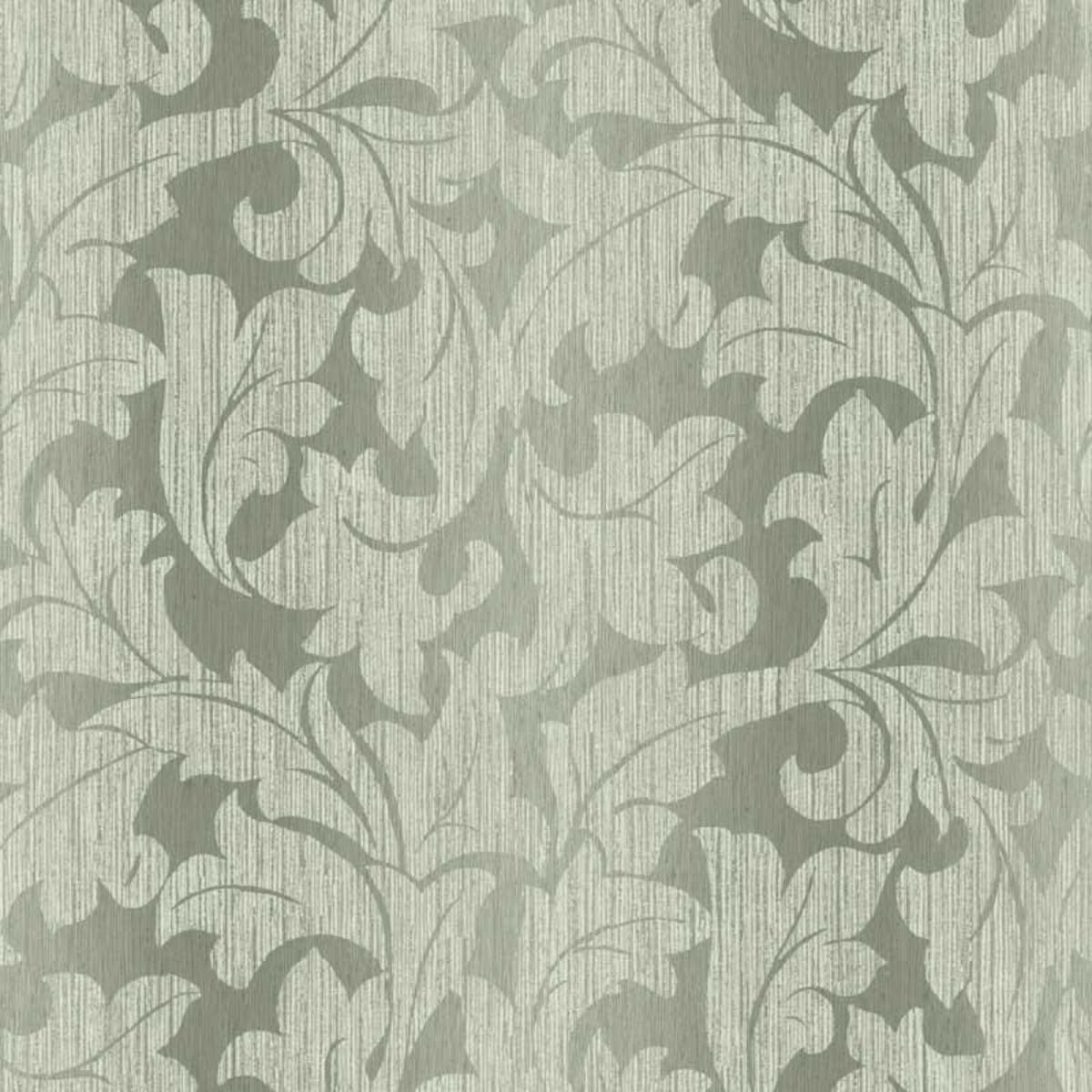 Обои акриловые Harrison Prints Ashby зеленые 0.53 м WC90400
