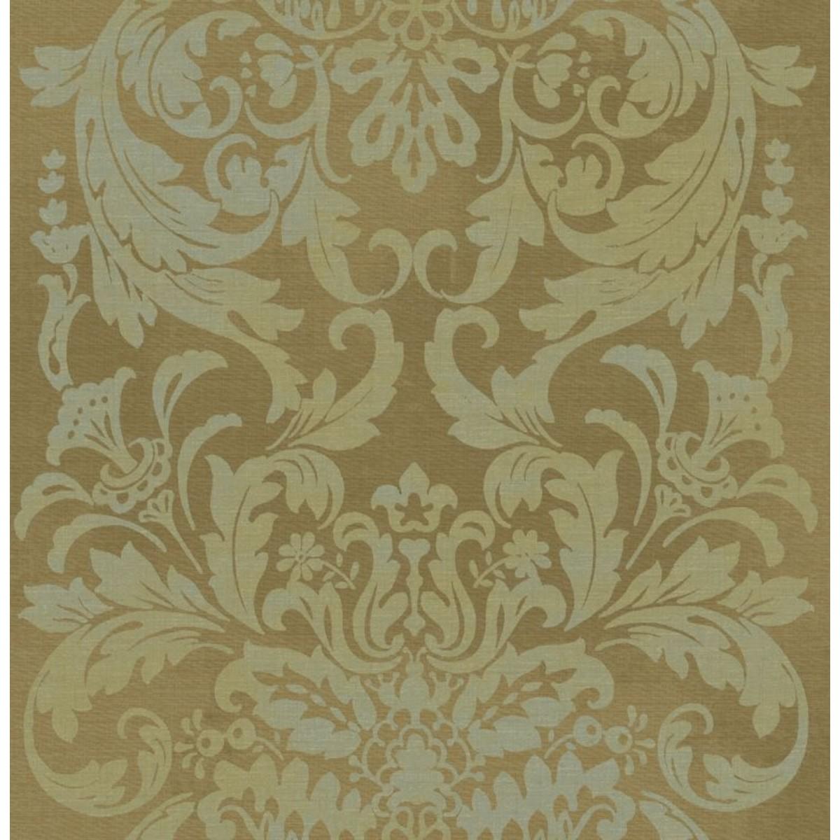 Обои акриловые Harrison Prints Piazza желтые 0.53 м ZZ50217