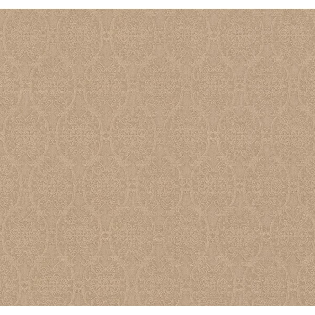 Обои флизелиновые Prima Italiana Infinity коричневые 1.06 м 50144