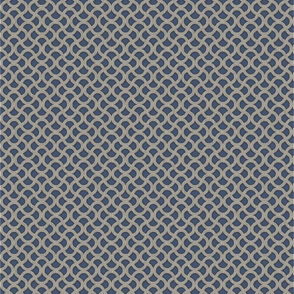 Обои флизелиновые Marburg Empire синие 1.06 м 57590