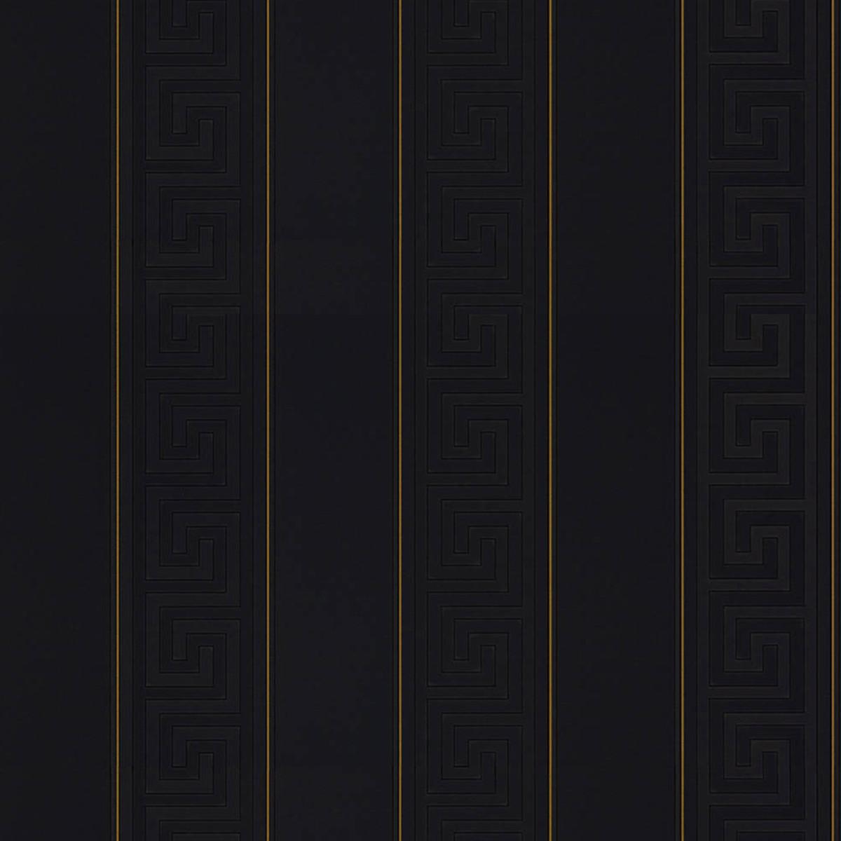Обои флизелиновые A.S. Creation Versace черные 1.06 м 93524-4
