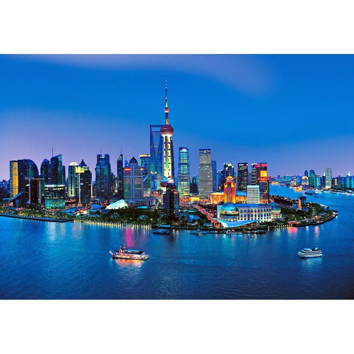 Фотообои W+G Shanghai Skyline 00135WG 366х254 см