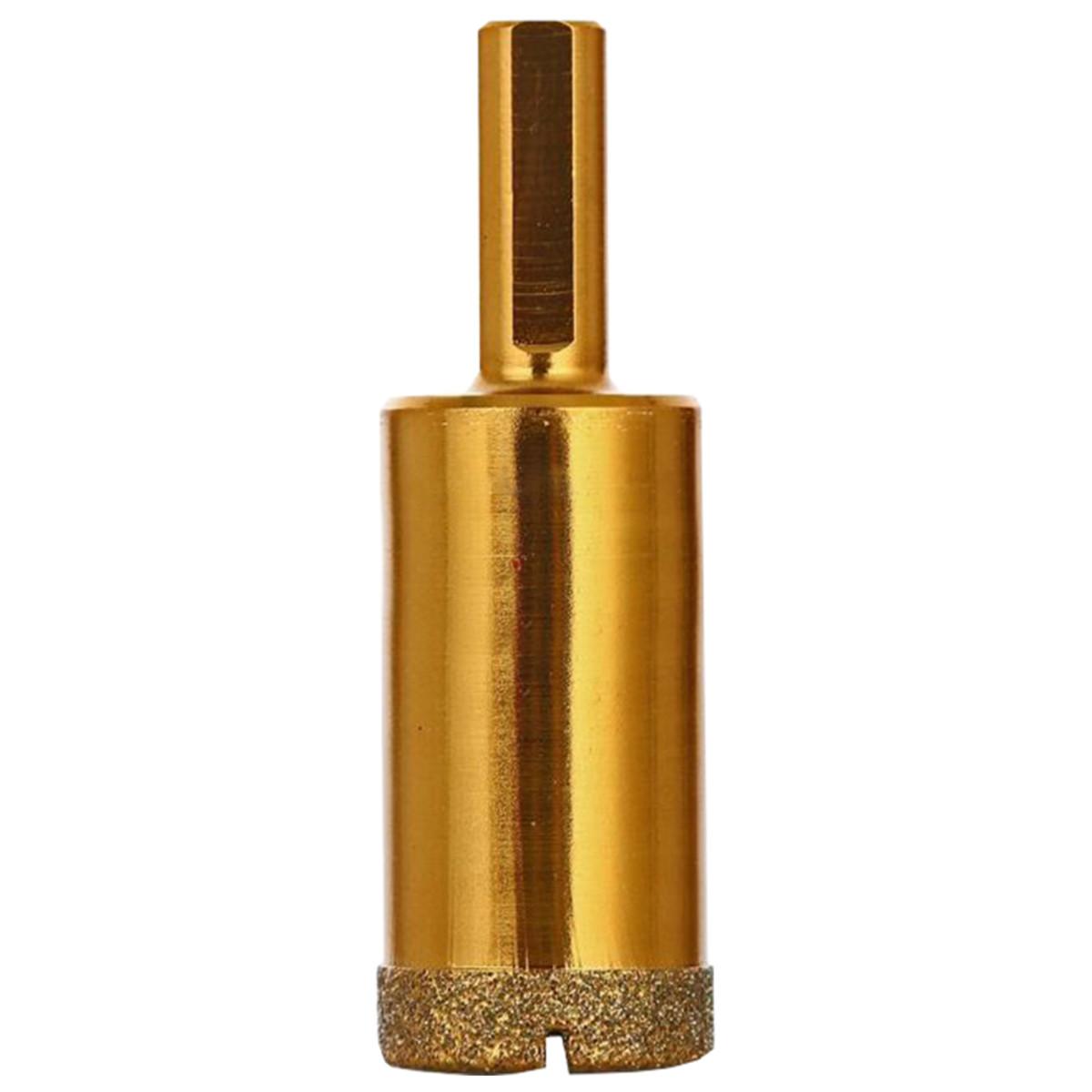Коронка алмазная по керамограниту ПРАКТИКА Эксперт 25мм 035-073