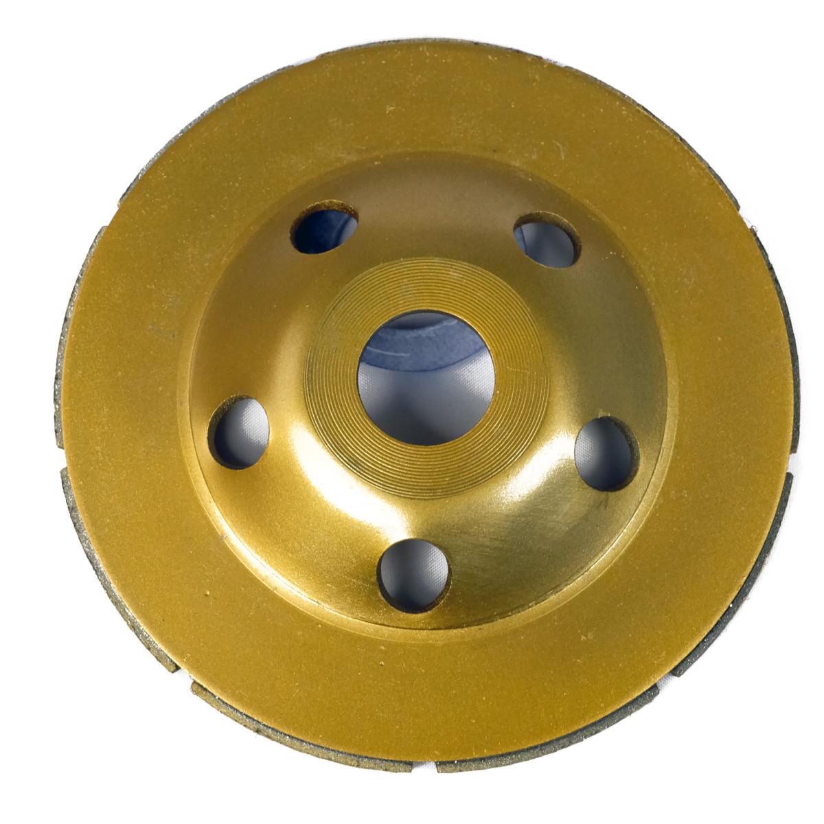 Чашка Алмазная Практика Эксперт 030-948 Шлифовальная 2-Рядная 125 Х 22 1  Блистер