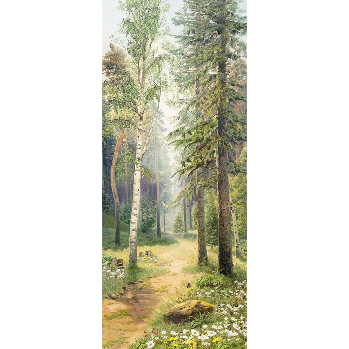 Панно Твоя планета Дорожка в лесу 105х254 см