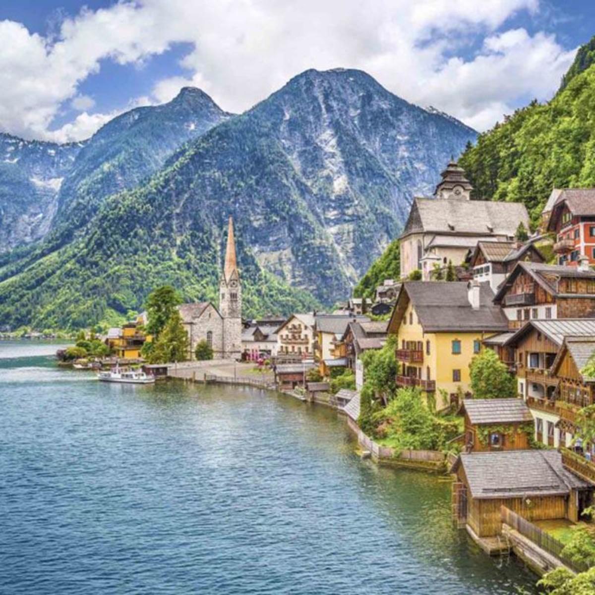 Панно Твоя планета Альпийское озеро 315х238 см