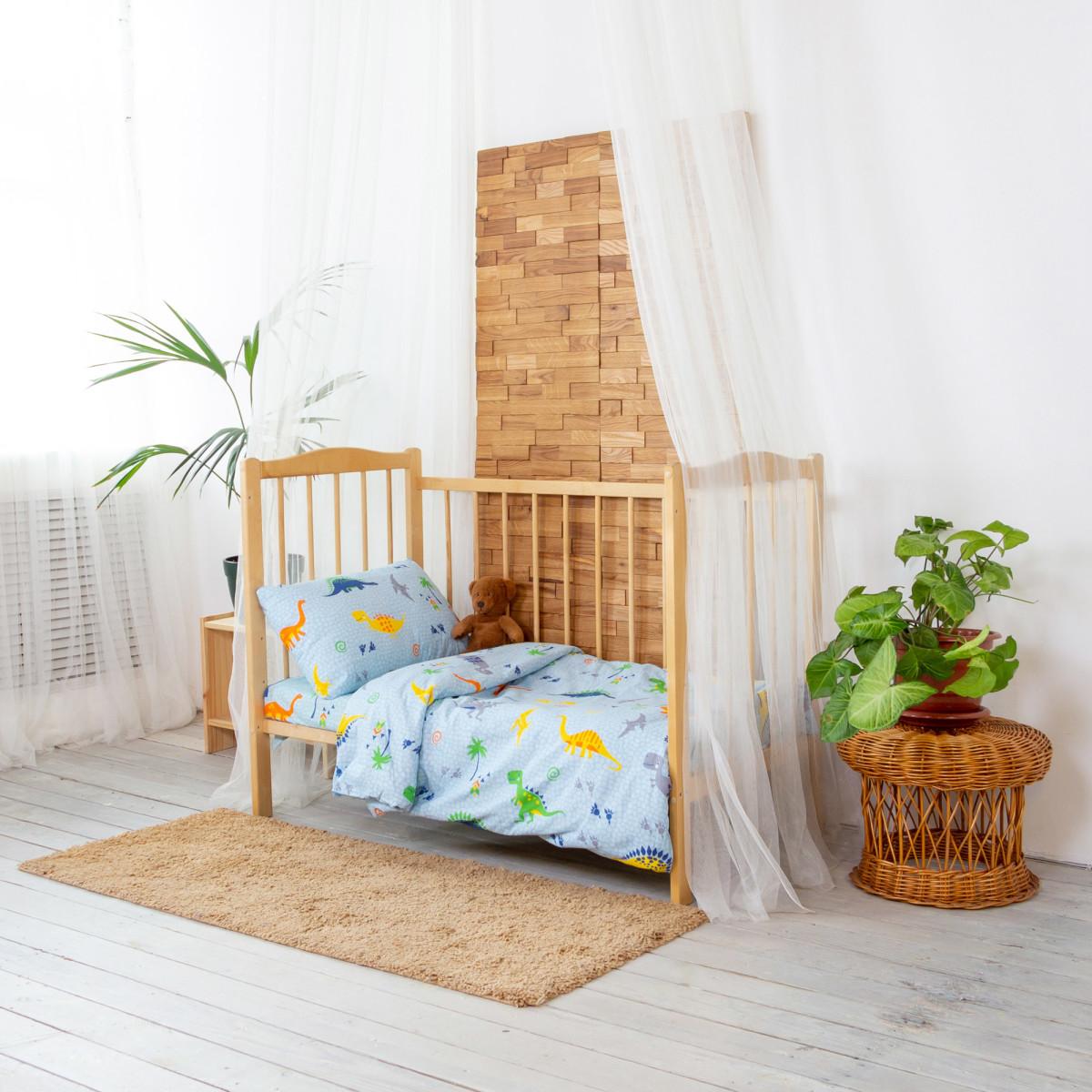 Комплект постельного белья Карамелька в кроватку бязь 3 предмета