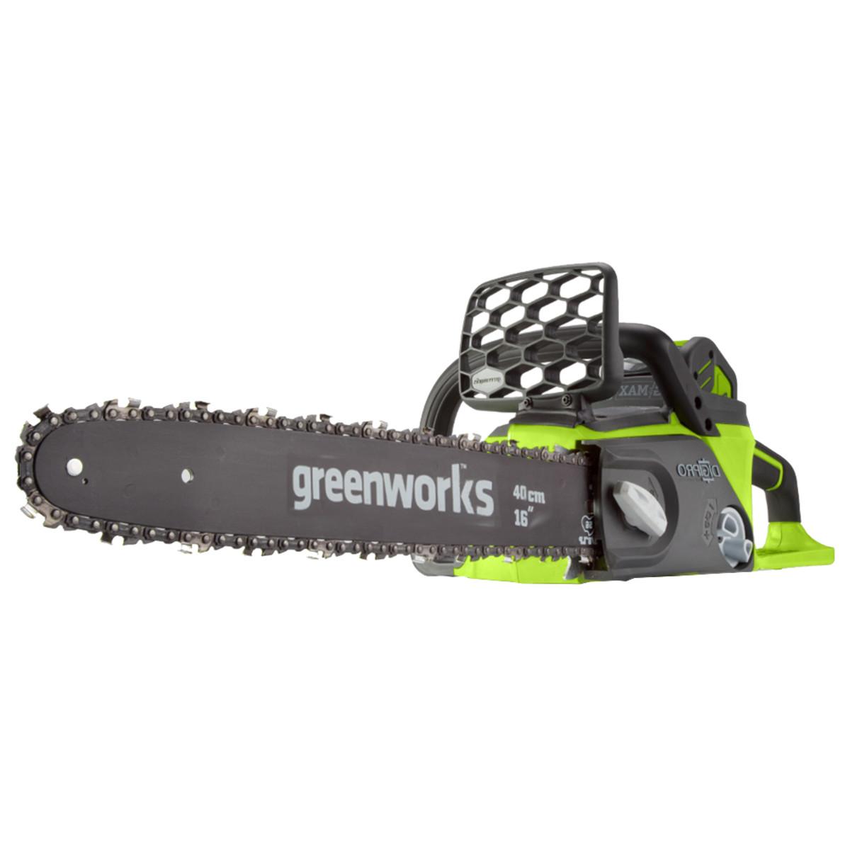 Электрическая цепная пила Greenworks GD40CS40K4 20077UB