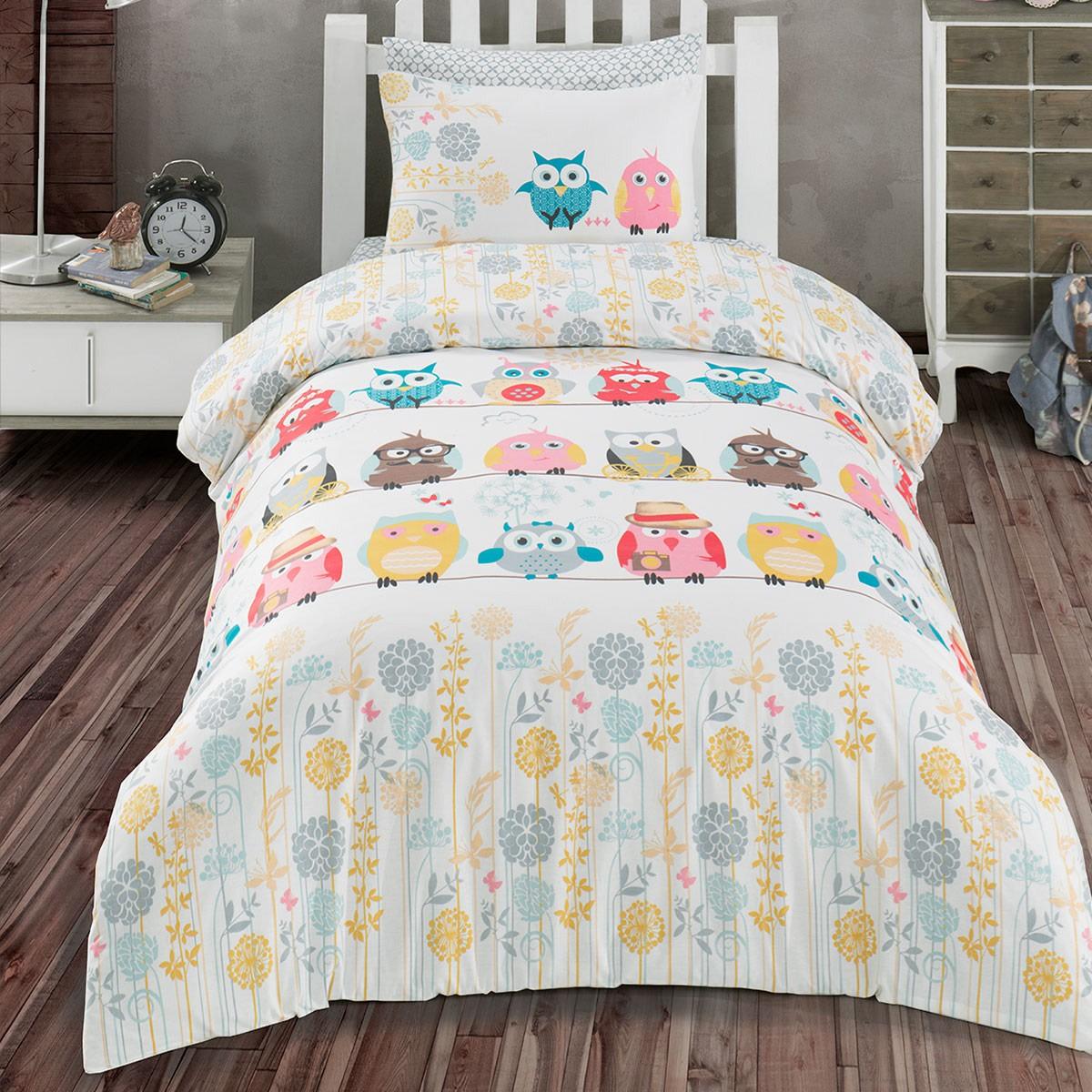 Комплект Постельного Белья Owl Полутораспальный Перкаль