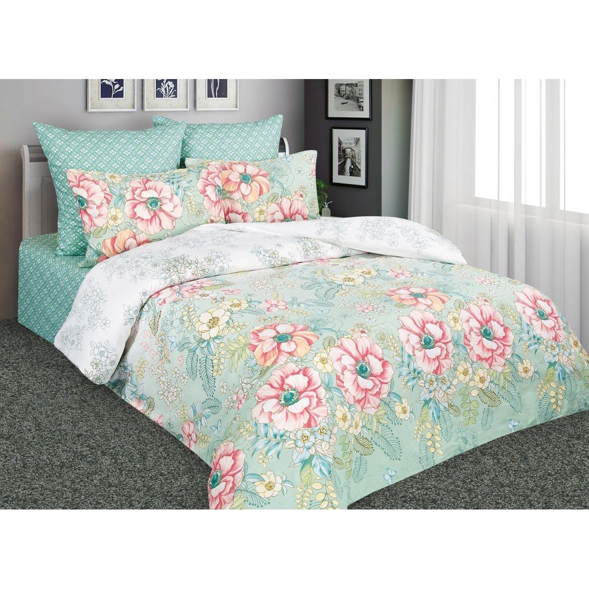 Комплект постельного белья Дивный сад полутораспальный перкаль