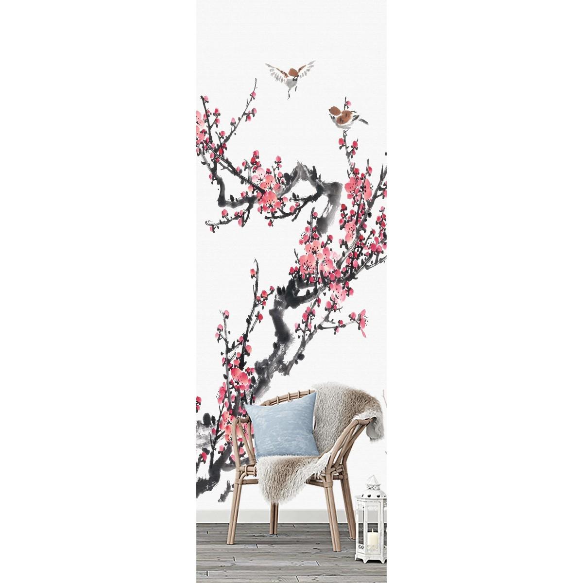 Фотообои Barton Wallpapers Цветы F02401 100х270 см