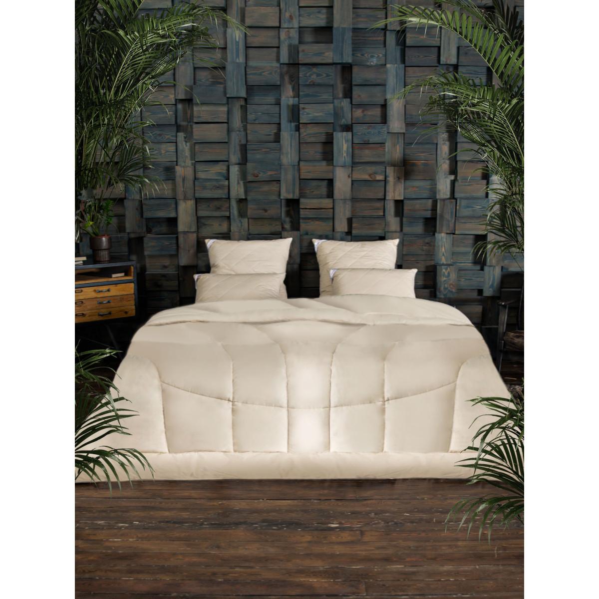 Одеяло двуспальное OL-TEX 205х172 верблюжья шерсть
