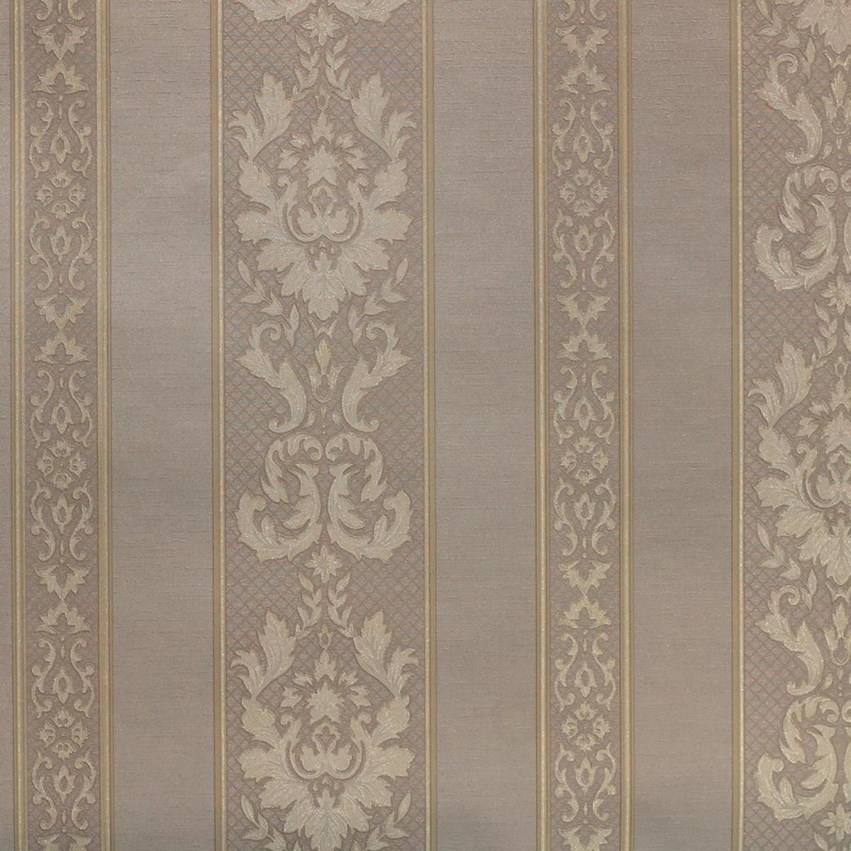 Обои виниловые Elysium Дворцовый вензель бежевые 0.53 м 60454