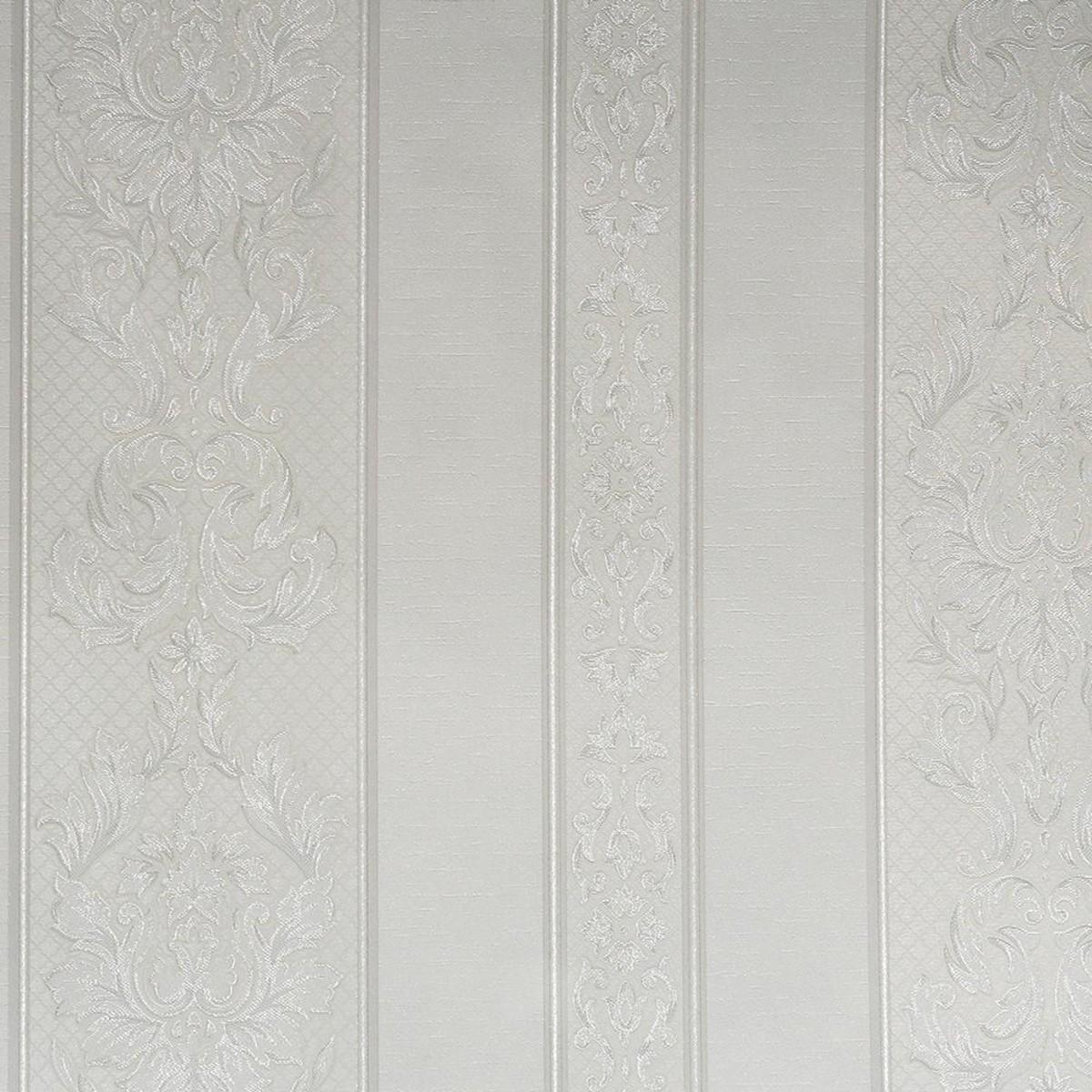 Обои виниловые Elysium Дворцовый вензель белые 0.53 м 60450