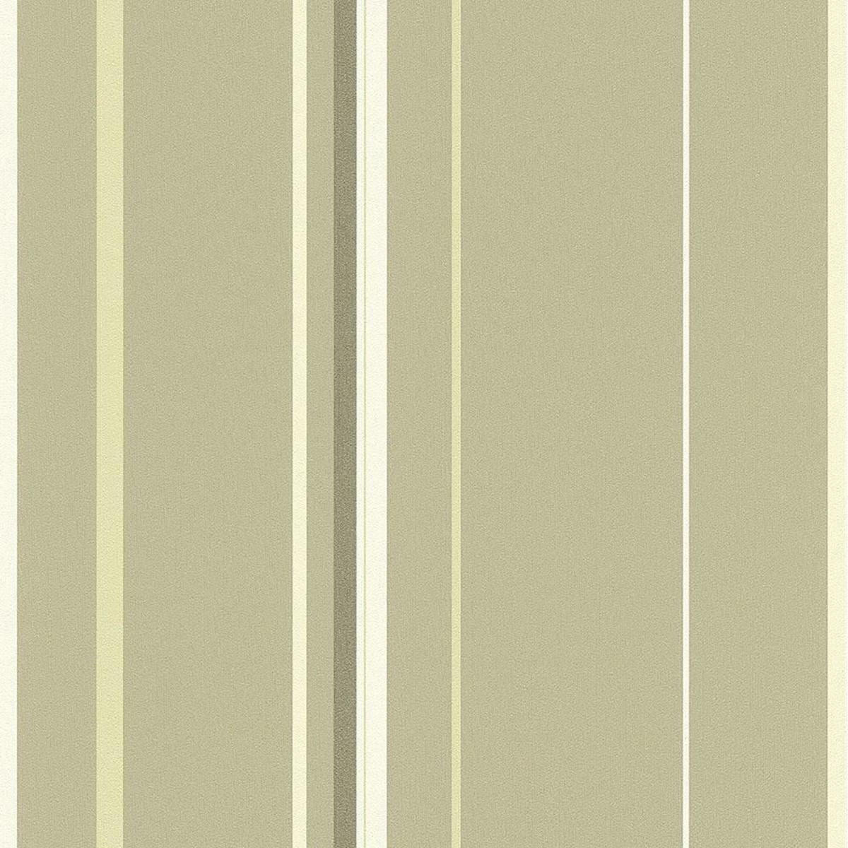 Обои флизелиновые Rasch Valverde зеленые 0.53 м 764666