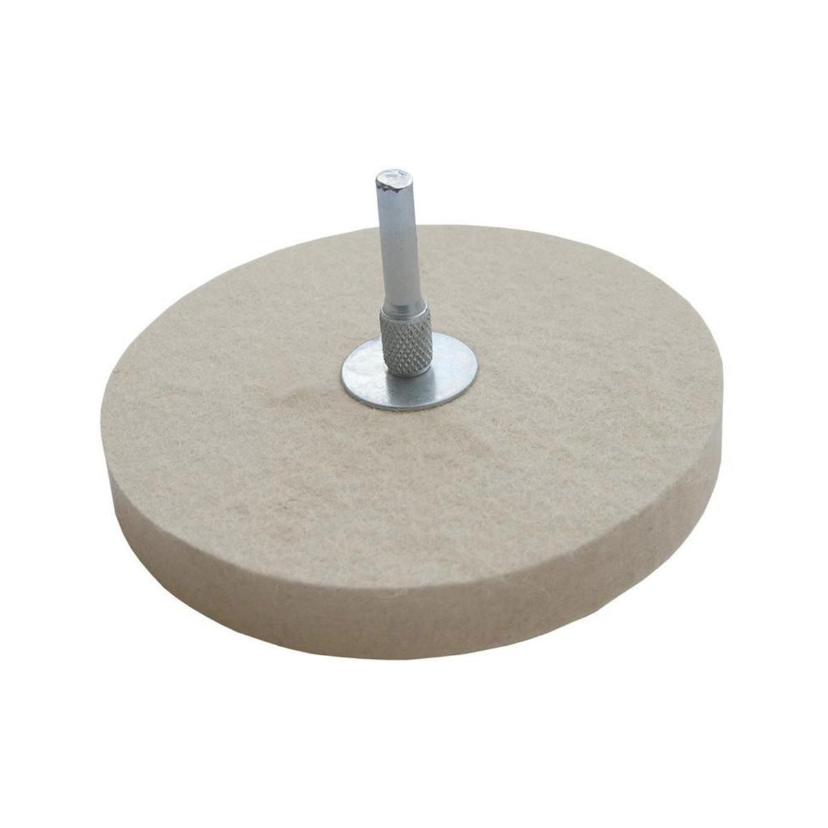 Круг полировочный по металлу FIT 115 мм 38703