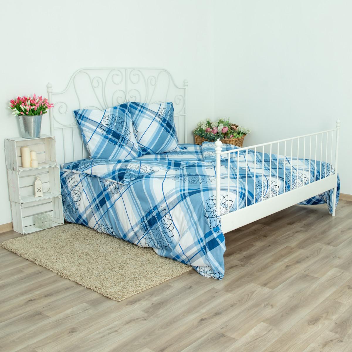 Комплект постельного белья Цветные сны семейный сатин 70x70 см