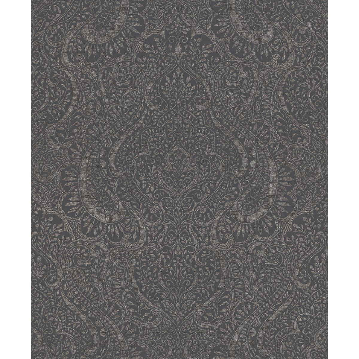 Обои флизелиновые Aquarelle Jaipur серые 0.53 м 227849