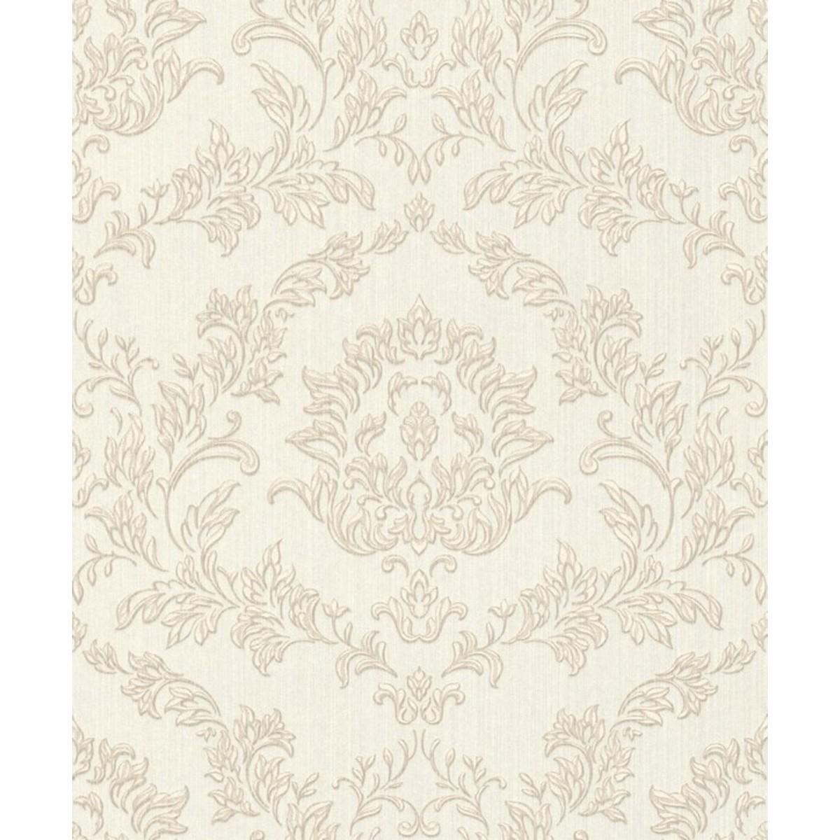 Обои текстильные Aquarelle Velluto белые 0.53 м 74924
