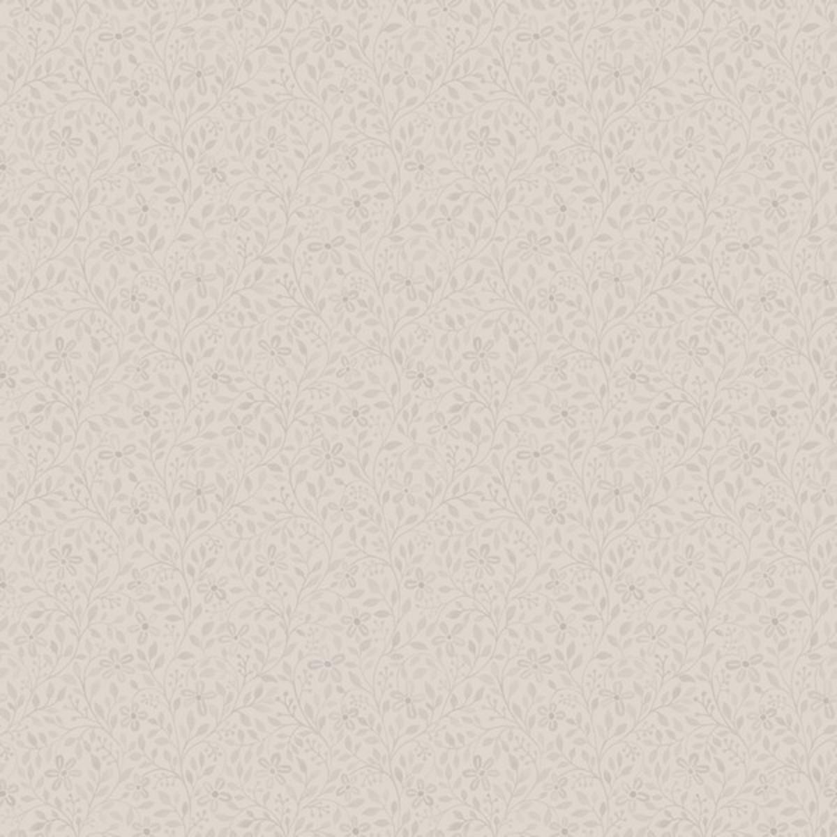 Обои флизелиновые Midbec Blomstermala бежевые 0.53 м 51029