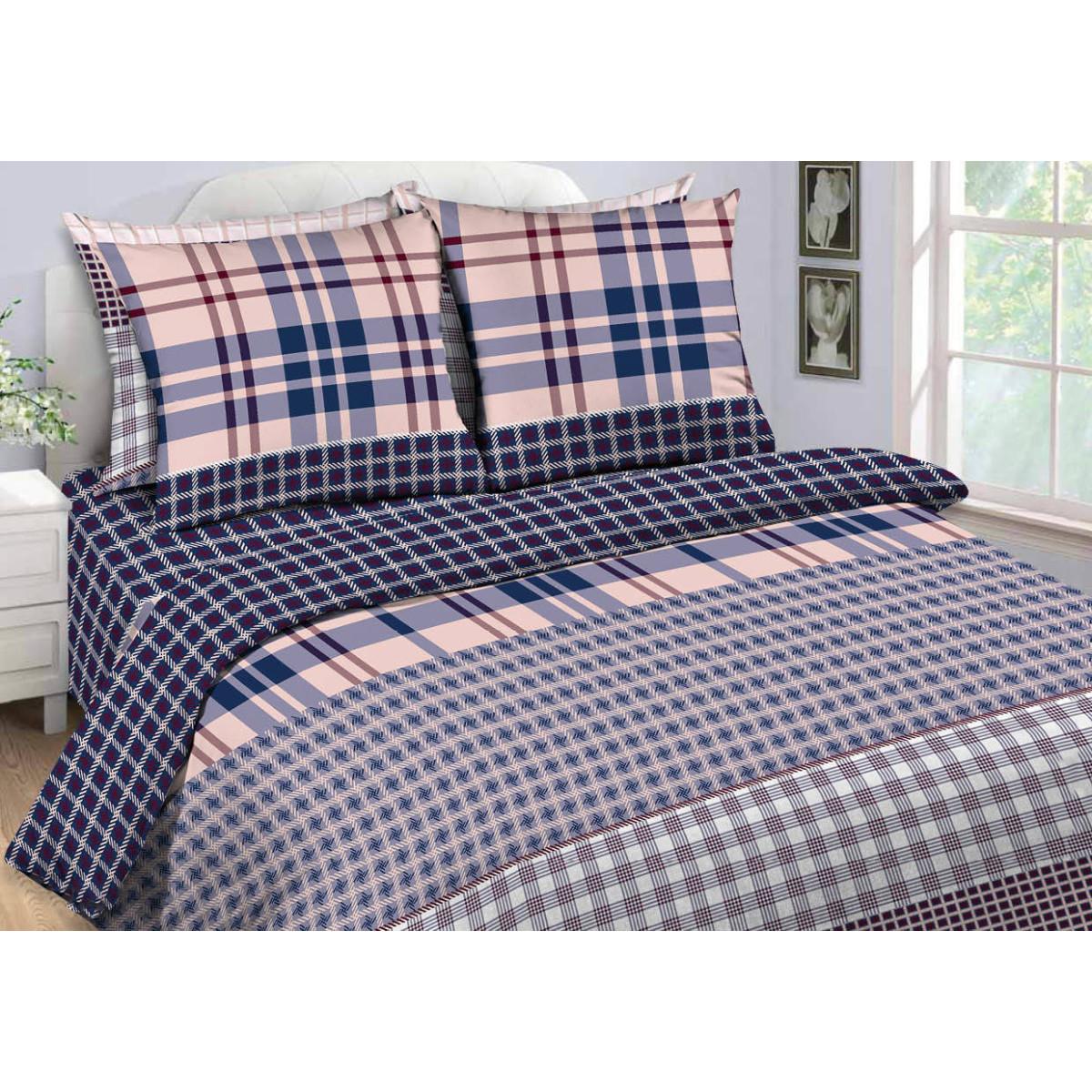 Комлплект постельного белья двуспальный «Нежный штрих» бязь 50x70 см