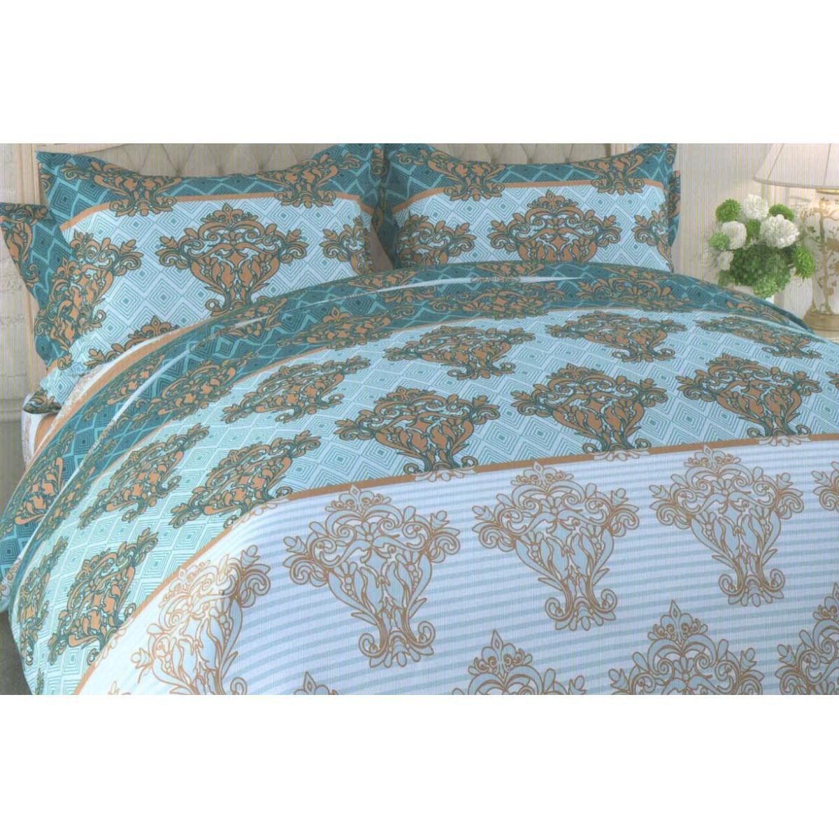 Комлплект постельного белья двуспальный «Queen Butterfly» бязь 50x70 см