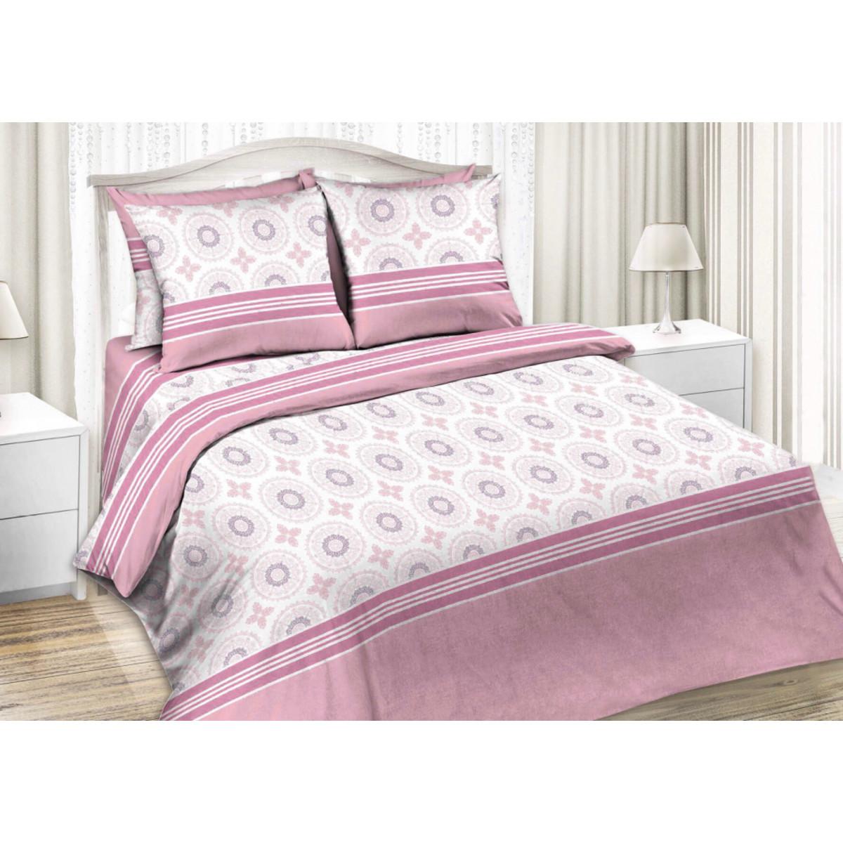 Комлплект постельного белья двуспальный «Глория» бязь 70x70 см