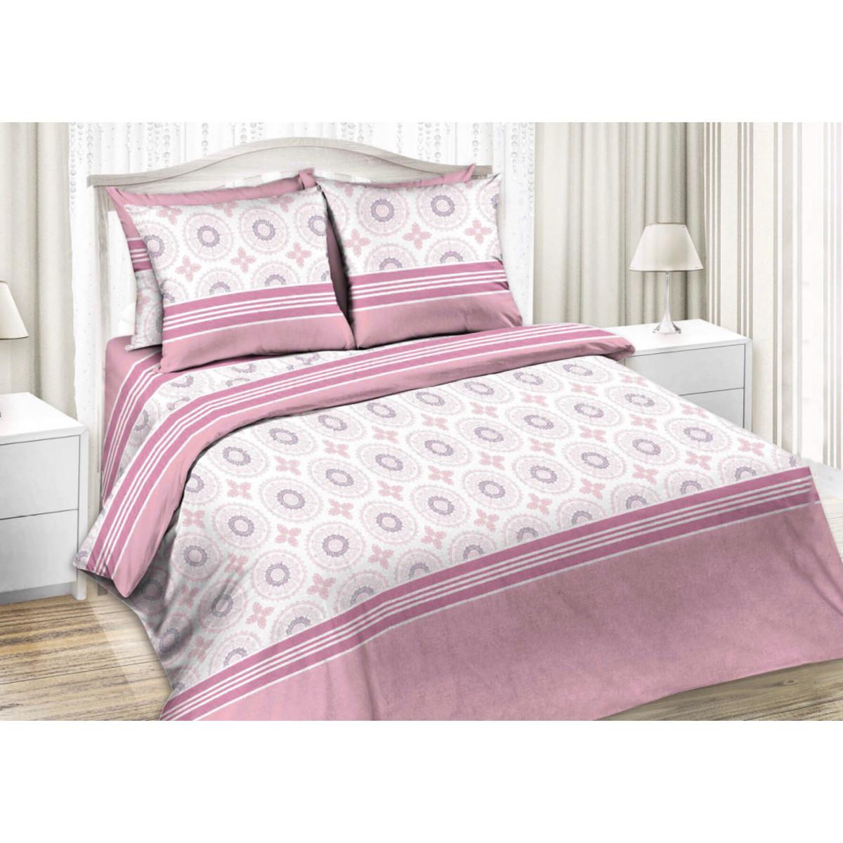 Комлплект постельного белья двуспальный «Глория» бязь 50x70 см