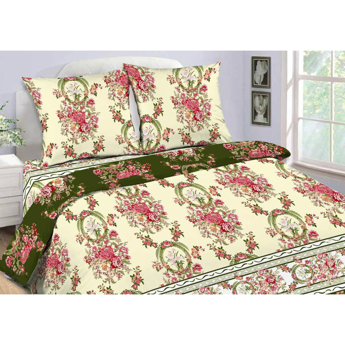 Комлплект постельного белья двуспальный «Диана» бязь