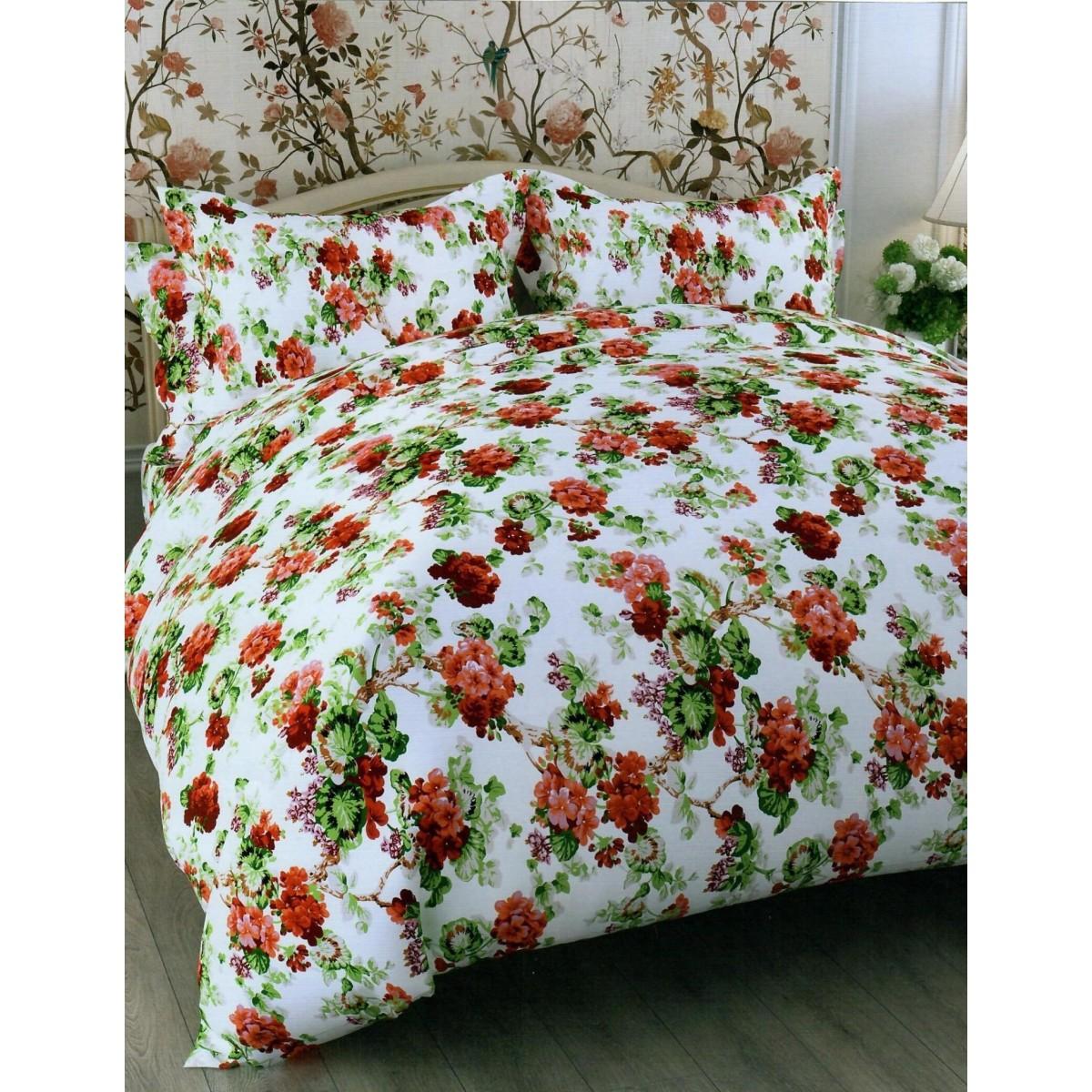 Комлплект постельного белья евро «Queen Butterfly» бязь 70x70 см