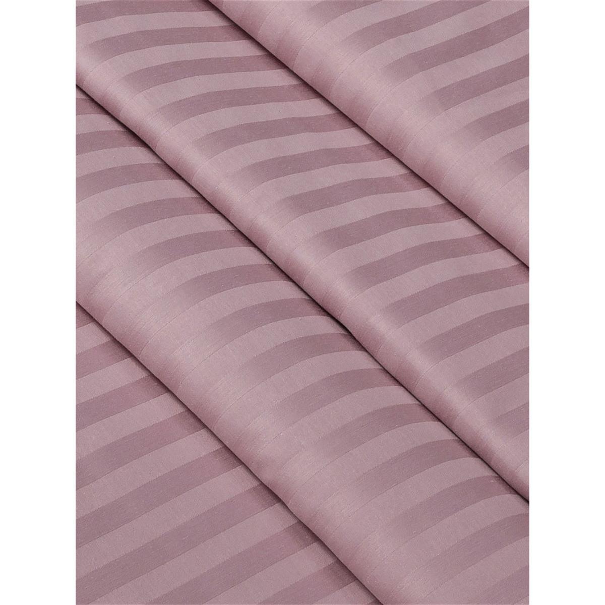 Комплект Постельного Белья Розовый Зефир Полутораспальный Сатин