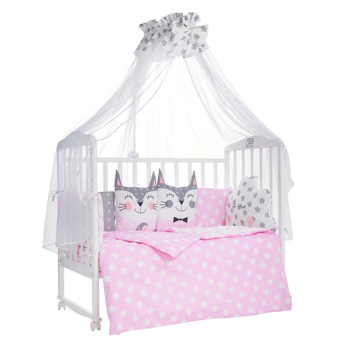 Комплект Постельного Белья Sweet Baby Gioia В Кроватку Бязь 7 Предметов