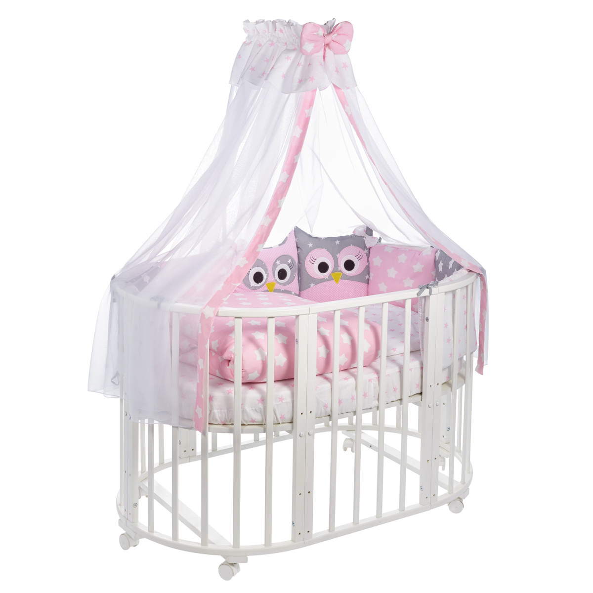 Комплект Постельного Белья Sweet Baby Uccellino В Кроватку Бязь 10 Предметов