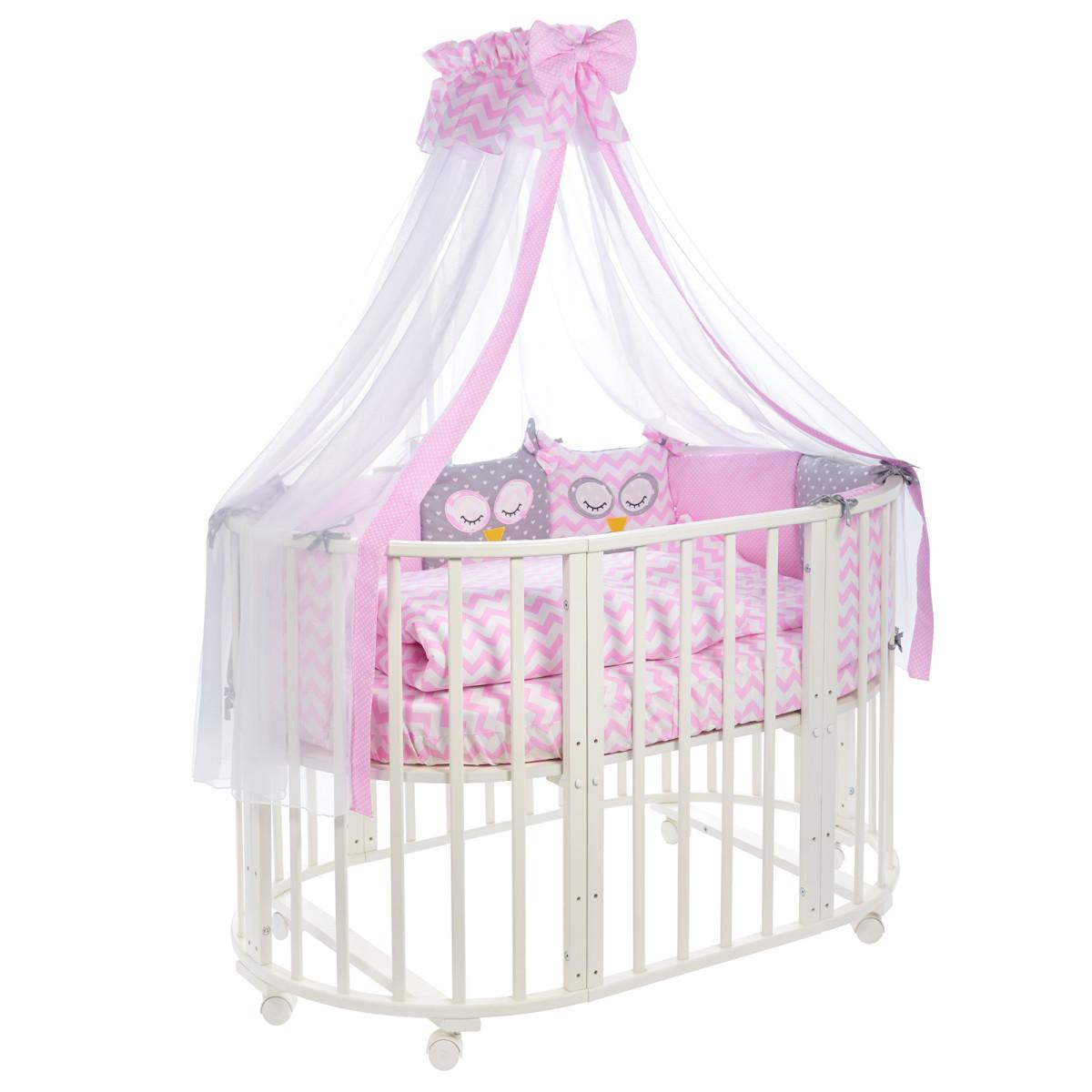 Комплект Постельного Белья Sweet Baby Civetta В Кроватку Бязь 10 Предметов