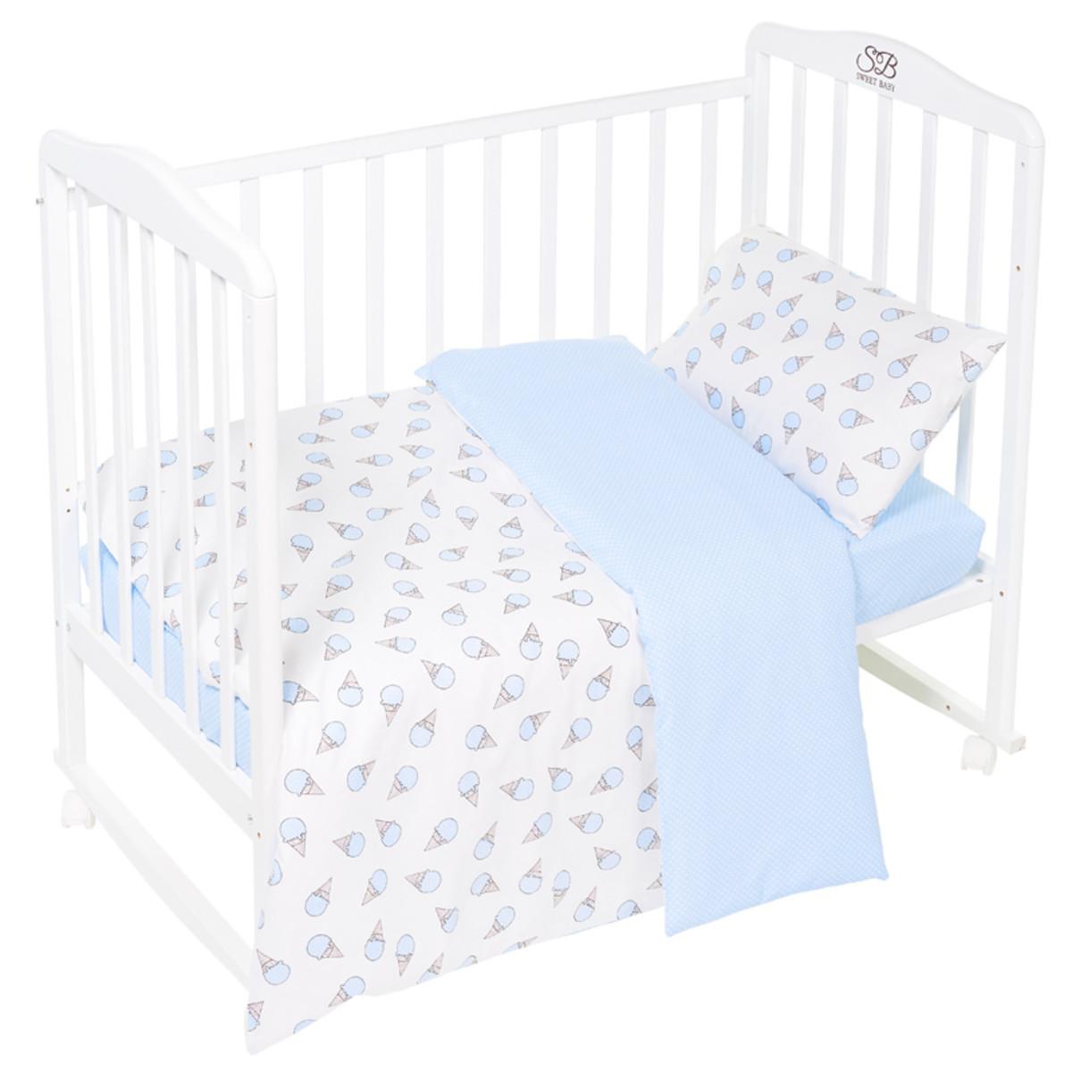 Комплект Постельного Белья Sweet Baby Gelato В Кроватку Бязь 3 Предмета