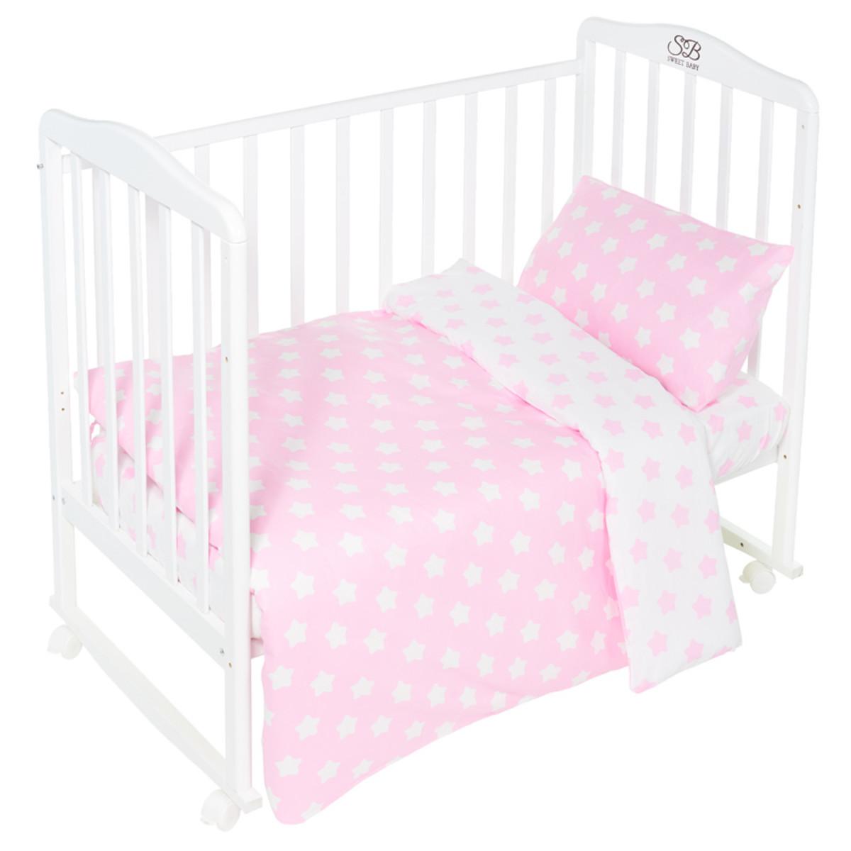 Комплект Постельного Белья Sweet Baby Stelle В Кроватку Бязь 3 Предмета
