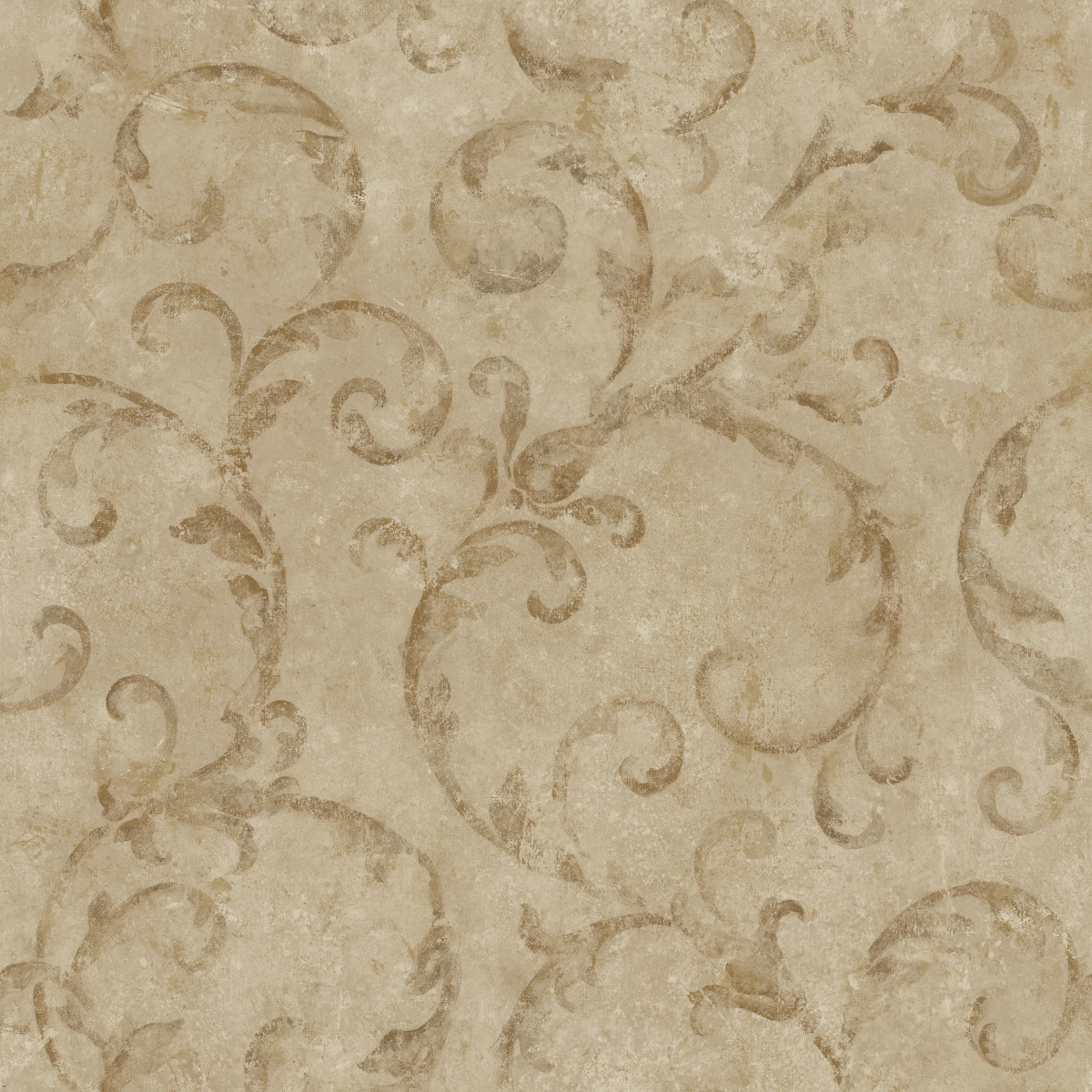 Обои виниловые Aura Silks &amp Textures коричневые 0.53 м NT33743