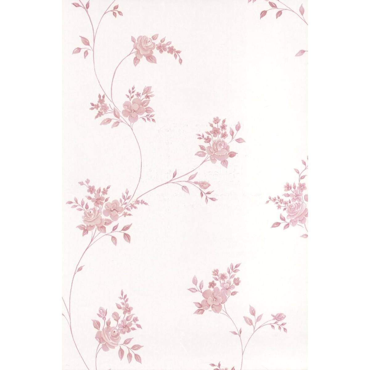 Обои флизелиновые Aura Floral Themes бежевые 0.53 м G23245