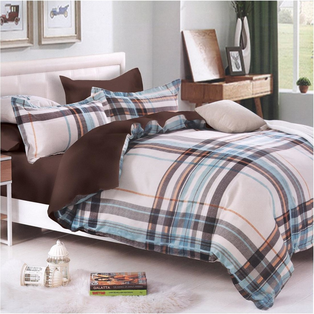 Комплект постельного белья 7 AVENUE «Нью-Йорк» двуспальный сатин