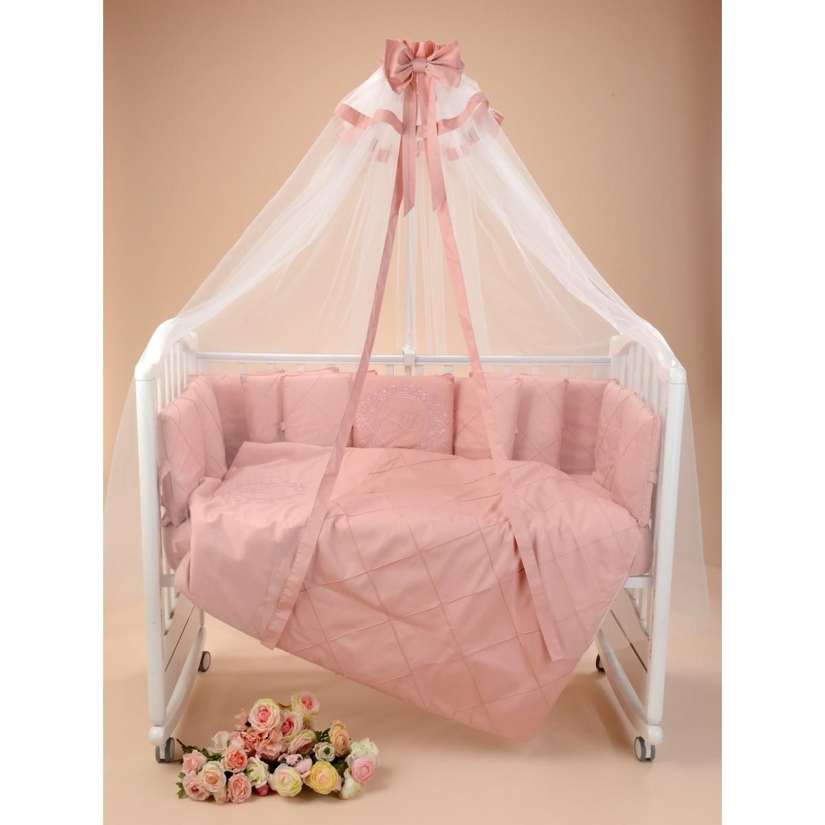 Комплект Постельного Белья Sweet Baby Splendore В Кроватку Сатин