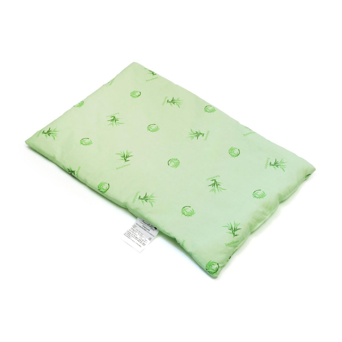 Подушка AmaroBaby детская Бамбук 60х40 см бамбук