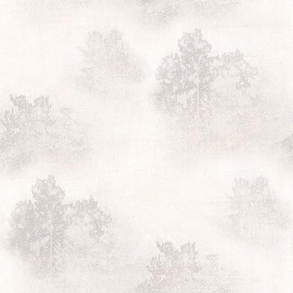 Обои флизелиновые Decoprint Selena белые 0.53 м SL18150