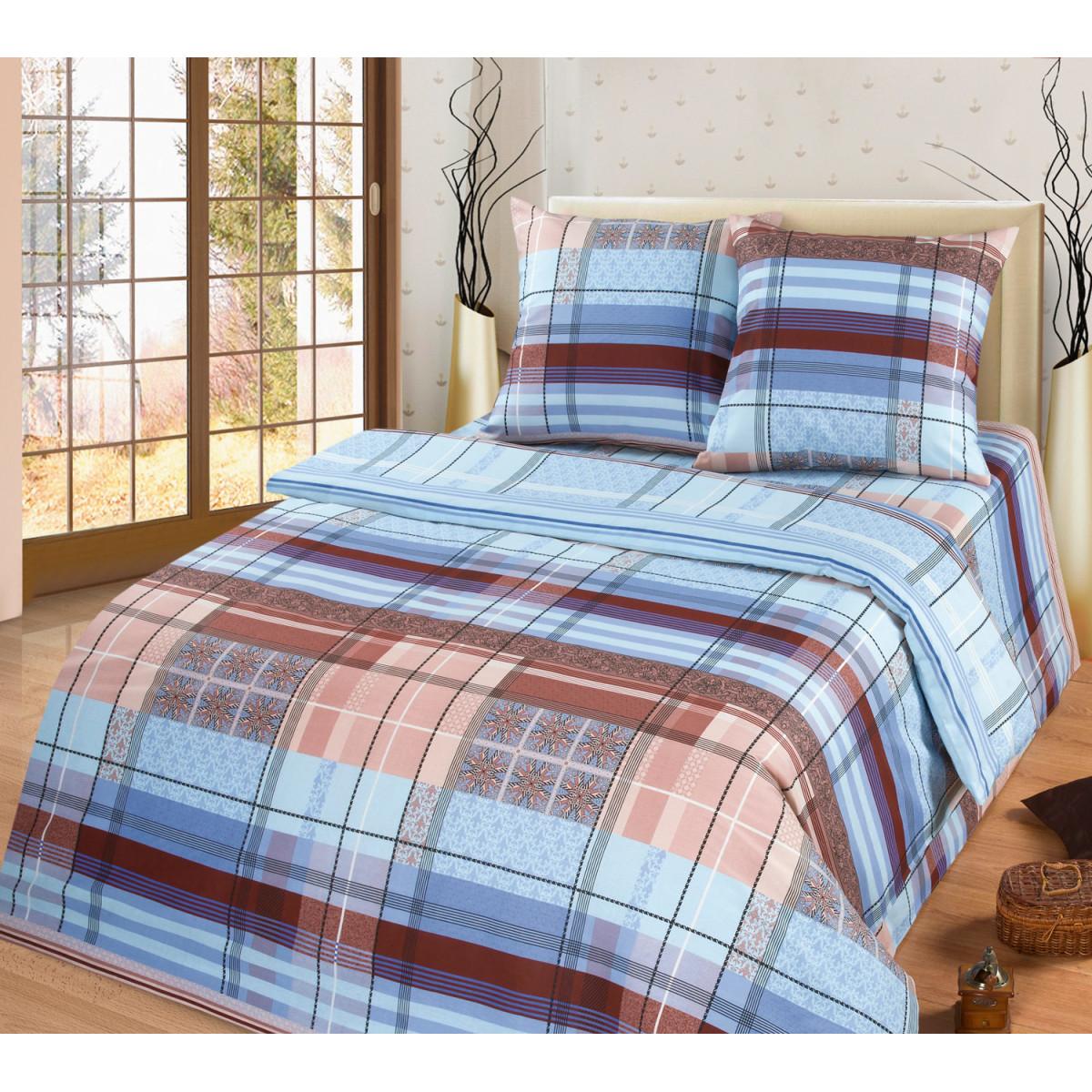 Комплект постельного белья MILANIKA Ромэо двуспальный бязь 70x70 см