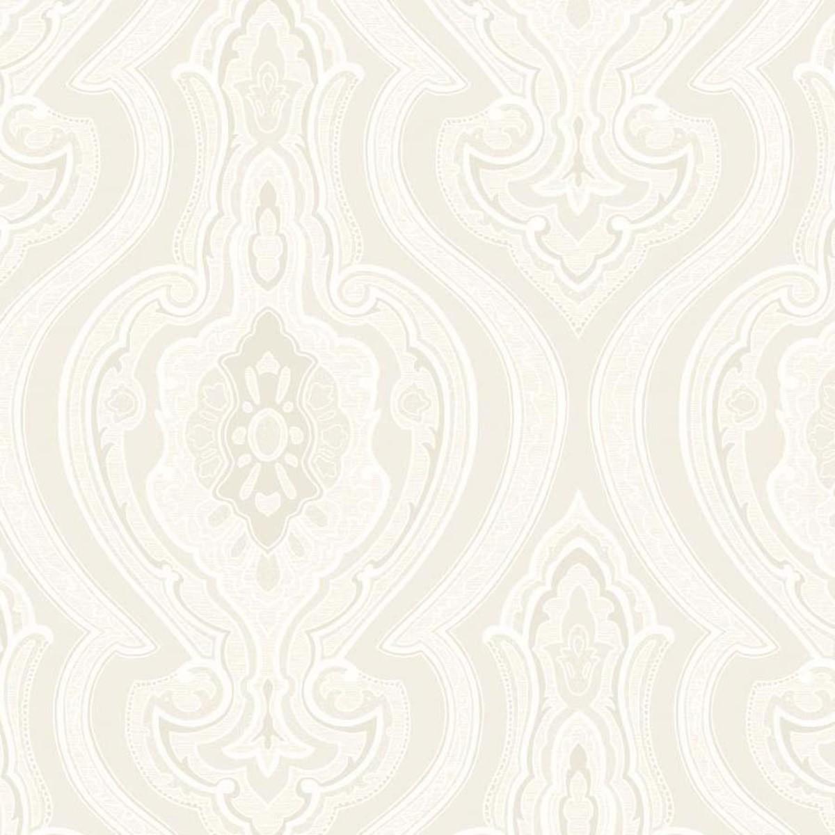 Обои флизелиновые Decoprint Emporia белые 0.53 м EM17051