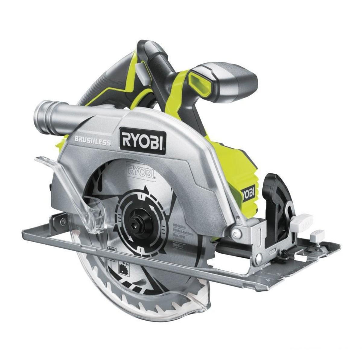 Аккумуляторная циркулярная пила RYOBI R18CS7-0 ONE+ 5133002890
