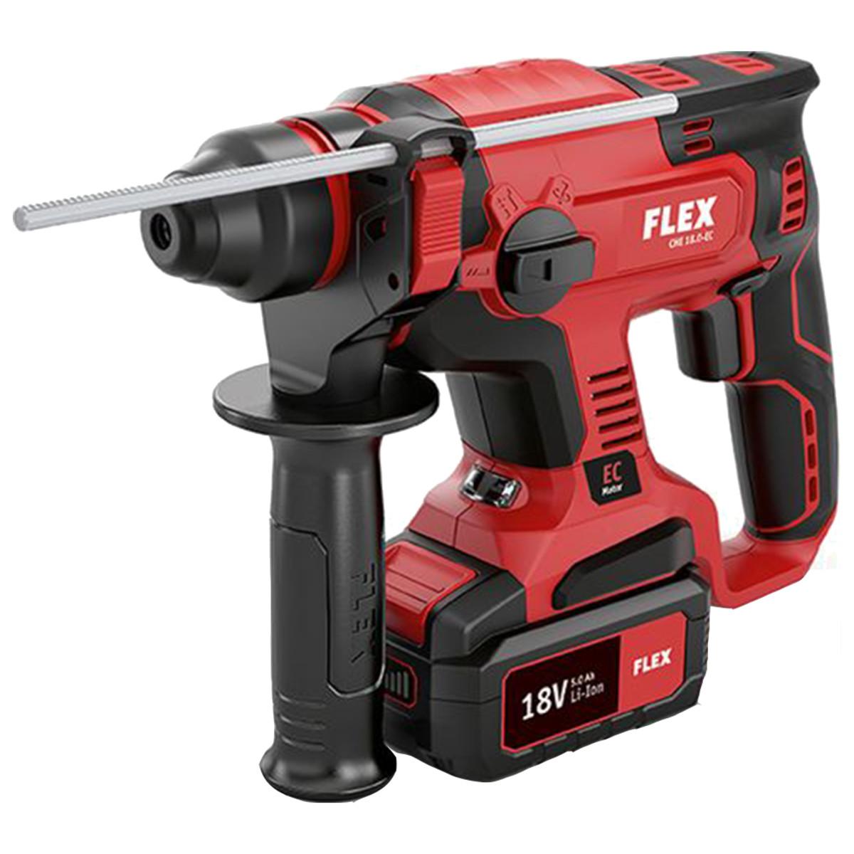 Аккумуляторный перфоратор Flex CHE 18.0-EC/5.0 Set 461768