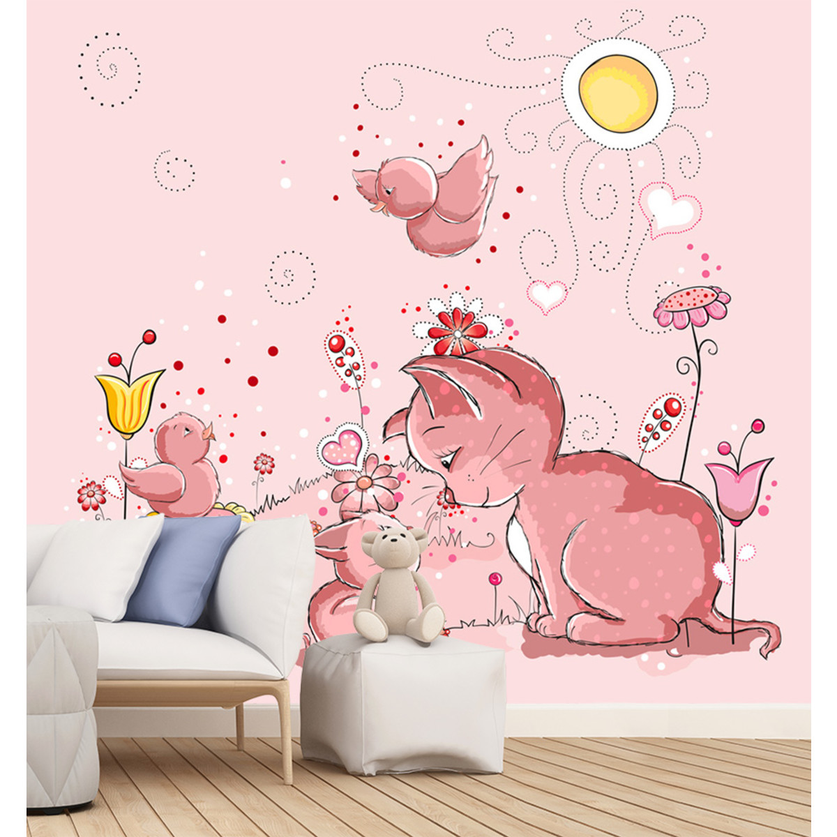 Фотообои Barton Wallpapers Детские K13903 300х270 см