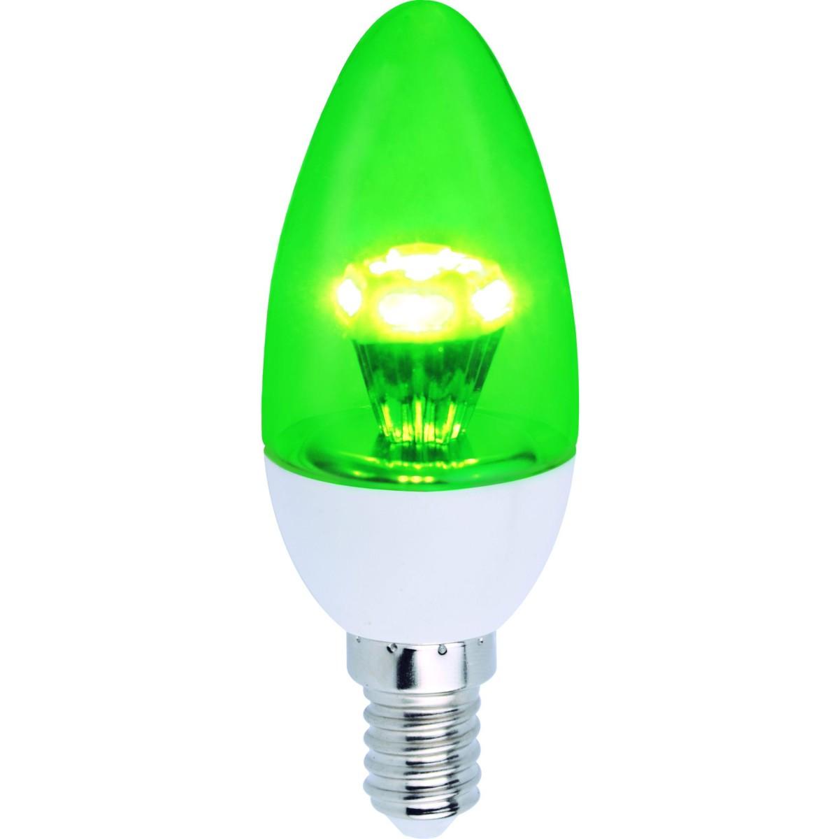 Лампа Ecola стандарт светодионая E14 3 Вт свеча 240 Лм нейтральный свет