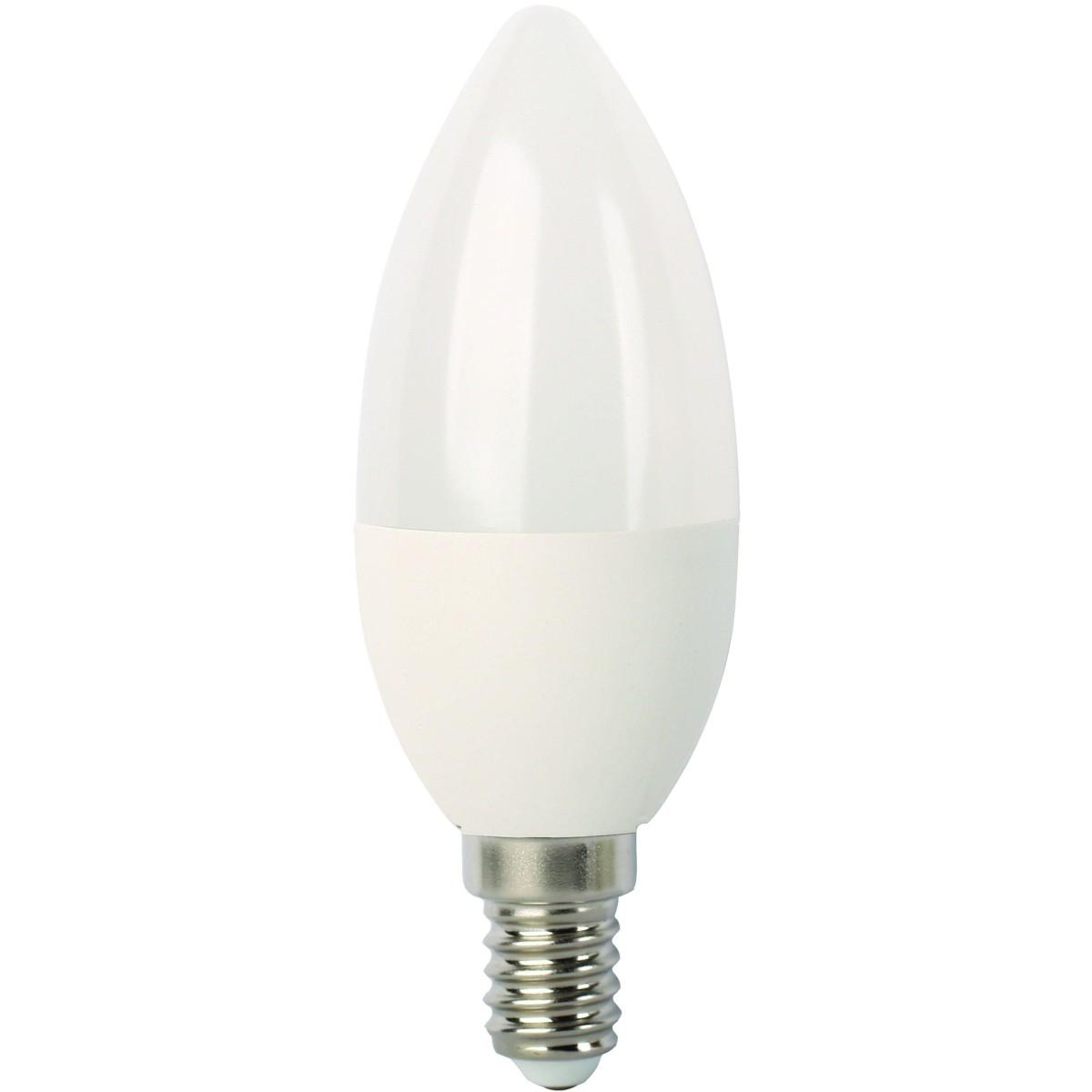 Лампа Ecola light светодионая E14 7 Вт свеча Лм нейтральный свет