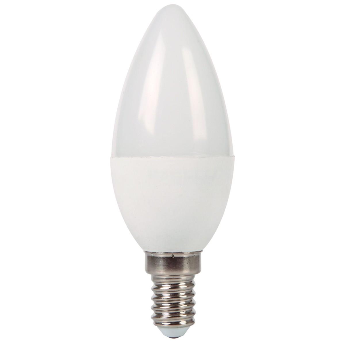 Лампа Ecola light светодионая E14 6 Вт свеча 480 Лм теплый свет